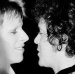 David Bowie y Lou Reed - musicos