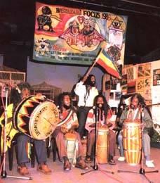 Músicos rastafaris en Etiopia - jamaica reggae music